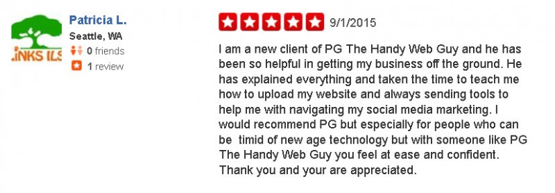 Patricia Yelp Review